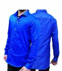 Men Shirt Blue