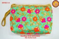 HandBags Multi Embroidery