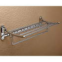Wall Mounted SS Folding Towel Rack