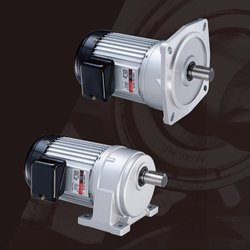 Mild Steel LUYANG Make Geared Motor for Tapping Machine