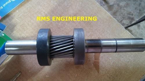 Carbide Coating On Coated Gear Shaft