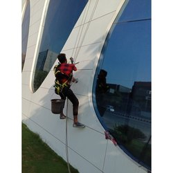 Facade Glass Cleaning Service