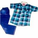 Kids Check Shirt And Jeans