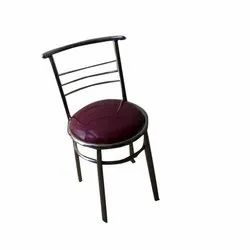 Mirror Polish Silver Stainless Steel Dining Chair, for Home