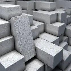 ACC Rectangular Bricks, For Construction Purposes, Packaging Type: Truck