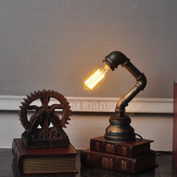 Innovative Retro Style Water Pipe Industrial Lamp