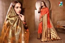 WEDDING WEAR BANARASI SILK SAREE