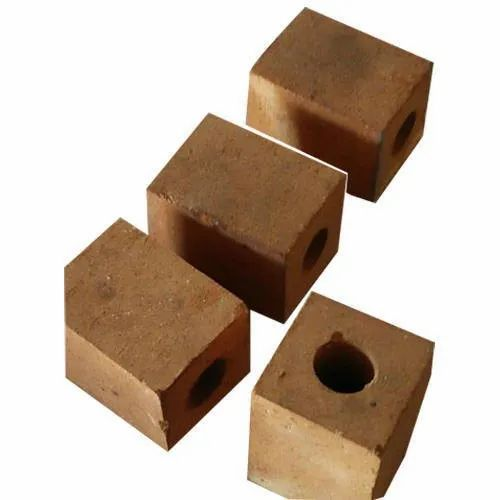 Up to 1700 degree C Brown Hollow Ceramic Fire Brick