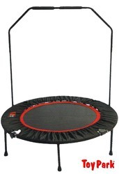 Fitness Exercise Folding Trampoline 40 Inches for kids/Adults with adjustable Stability Handle / Bar