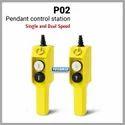 P02 Type Pendant Push Button Station