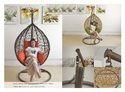 Wicker Single Seater Swing