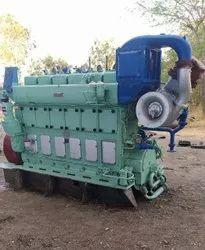 MaK 6M281 AK Marine Diesel Engine