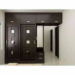Lockable Wooden Wardrobe