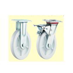 Polypropylene (PP White) Caster Wheels