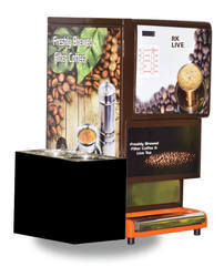 Live Coffee And Tea Vending Machine Maker