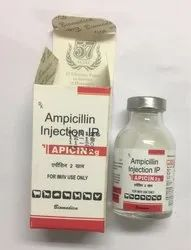 ampicillin sodium for injection 2 gm