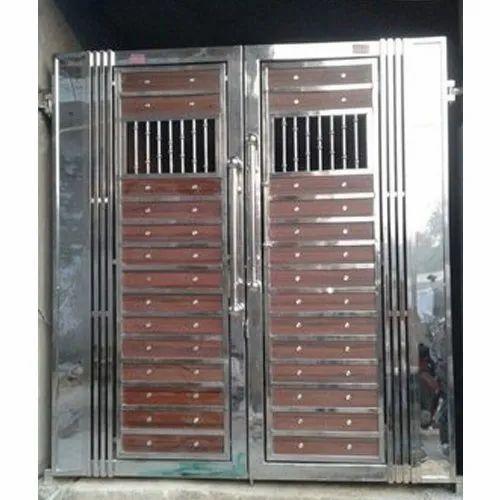 Steel Door - Stainless Steel Door Manufacturer from Delhi on