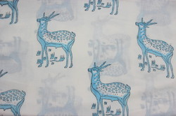 Animal Print Hand Block Fabric