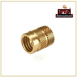 Male & Female Round Brass Uni-Directrional Inserts, For Electric Fitting