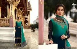 Satin Georgette Suit