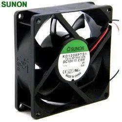 SUNON DC Axial Fan, Model Number: KD1208PTS1