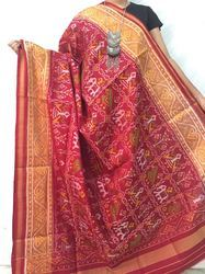 Red Silk Patola Dupatta