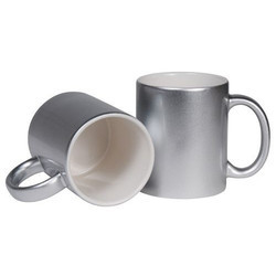 Sublimation Mug Silver