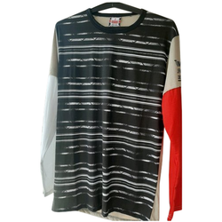 Round Mens Polyester Printed Full Sleeve T Shirt