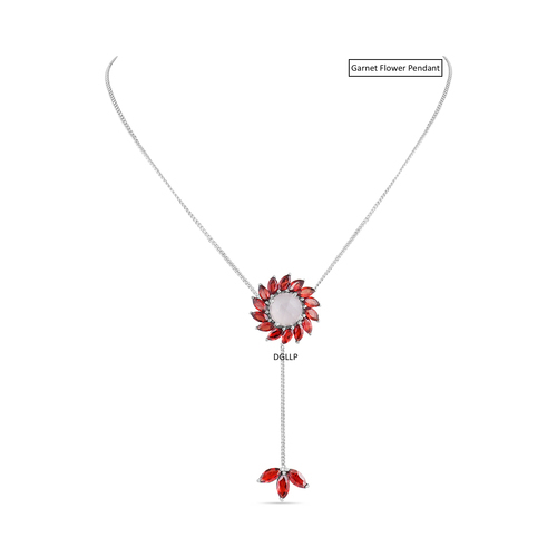 Garnet pendant at rs 1800 piece silver pendants id 15335642012 garnet pendant aloadofball Image collections