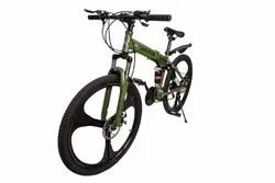 Land Rover Green Foldable Cycle