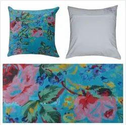 Indian Cotton Cushion Cover Handmade Floral Print Home Decor Cushion Cover