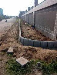Curbing Block Fixing Job Work Services