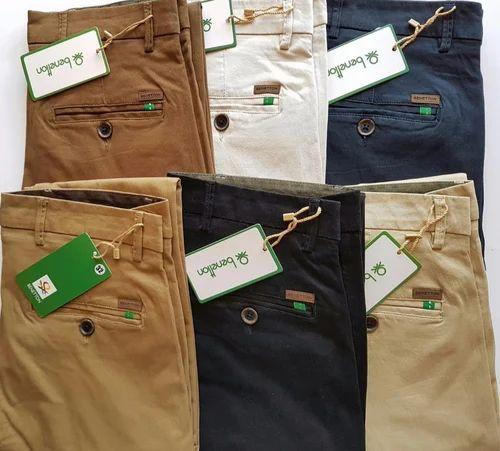 Men Cotton Pants - Mens Cotton Trousers Manufacturer from Bengaluru
