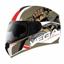 Dual Visor Bike Helmet