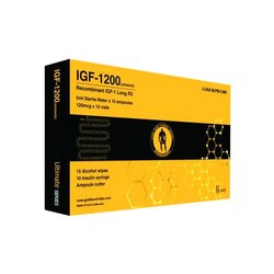 Gold Bond Labs IGF 1200 Recombinant IGF 1 Growth Hormone Injection