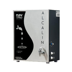Nav products Stainless steel Alcalin RO UF Purifier, Model Name/Number: Alcaline, Capacity: 9Ltr