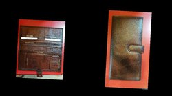 Leather Finish Checkbook Cover