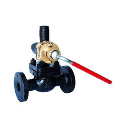 Qinn Cast Steel Parallel Slide Blow Off Valve