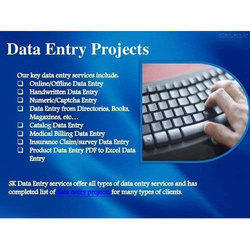 Offline Data Entry, Offline Data Entry Work in Ahmedabad