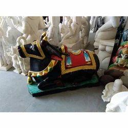 Multicolor Nandi Statue