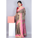 Ladies Handloom Ghicha Saree