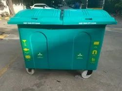Sintex Garbage Can 4 Wheels 1100 Ltr
