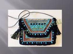 Beaded Embroidery Ladies Handbag