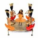 Iron Handicraft Items Dancing Showpiece Figurine Decorative Items Home Decor