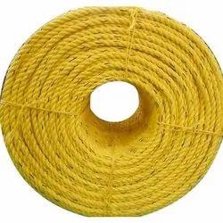 Yellow Packaging Nylon Rope