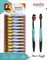 Polypropylene Toothbrush - Merlin Black Beauty For Tooth Cleaning