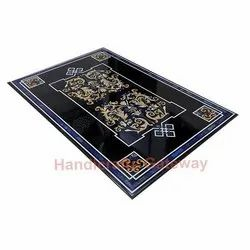Black Stone Inlay Table Top