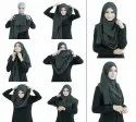 Full Stitched Ready To Wear Islamic Daily Wear Scarf Hijab Dupatta Stole