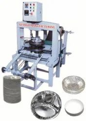 Vertical Automatic Hydraulic Thali Making Machine