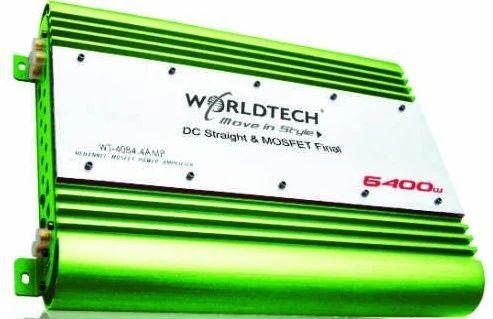 4 Ch Car Amplifier, Worldtech - Car Accessories, New Delhi   ID ...